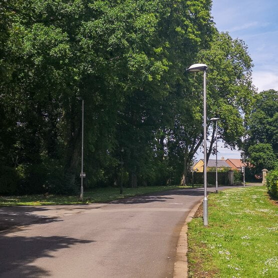 CALVEO driveway at the Kings Centre, near Oakham