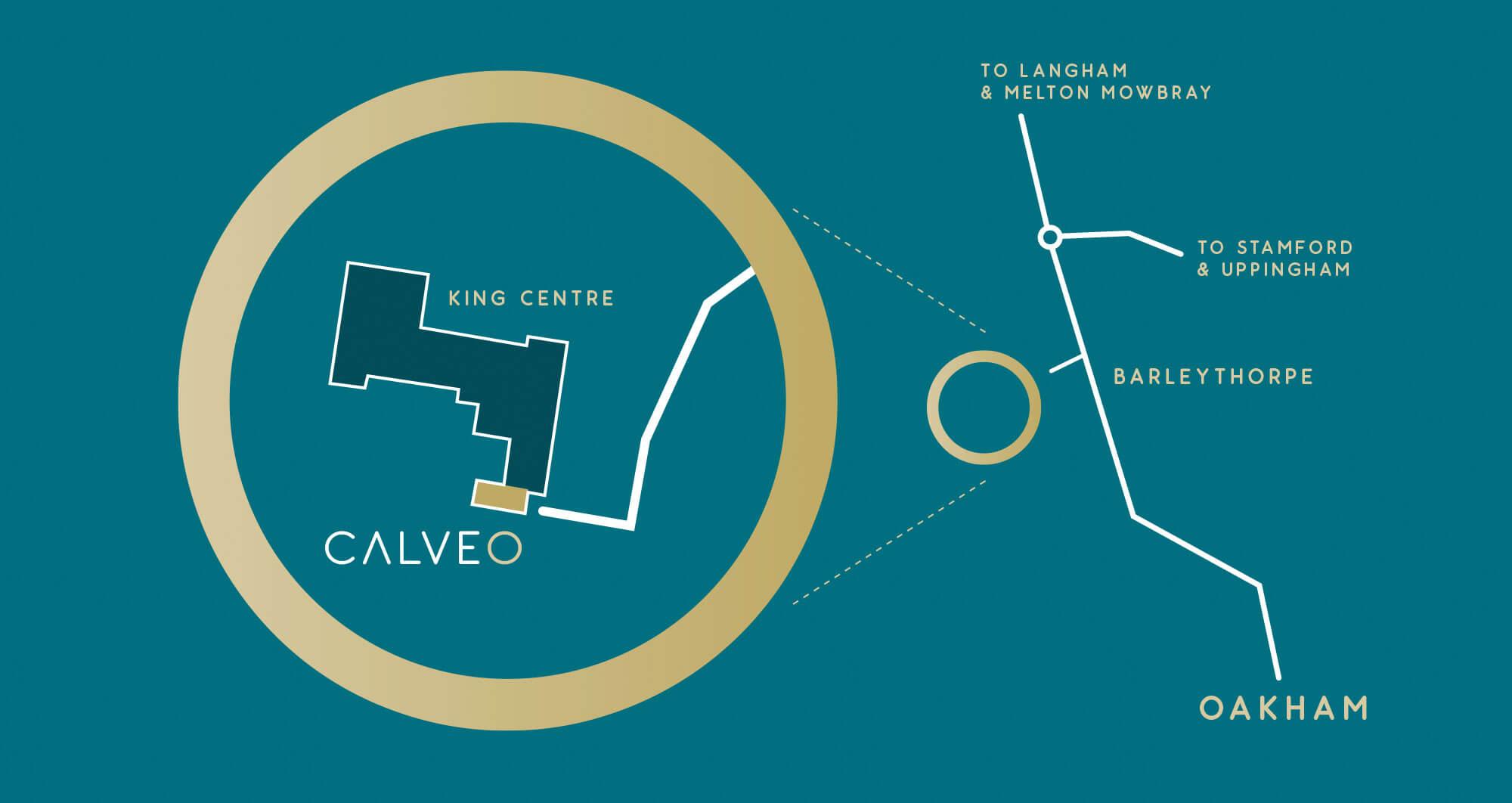 CALVEO map