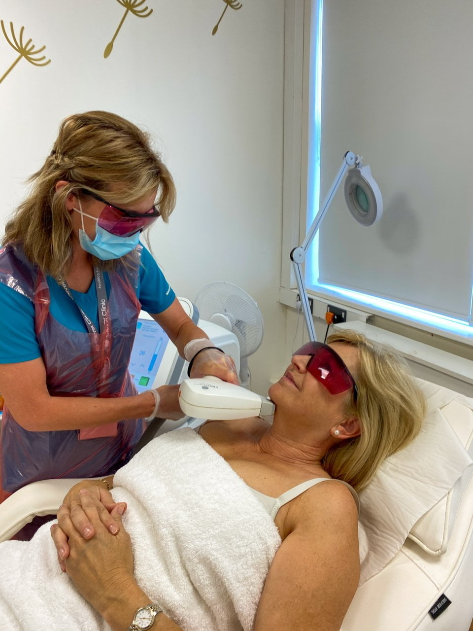 Laser hair removal during COVID