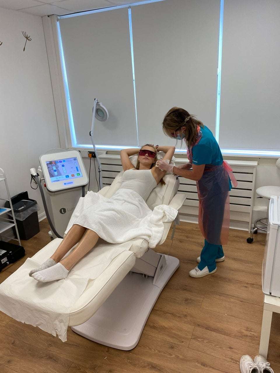 Laser hair removal clinc