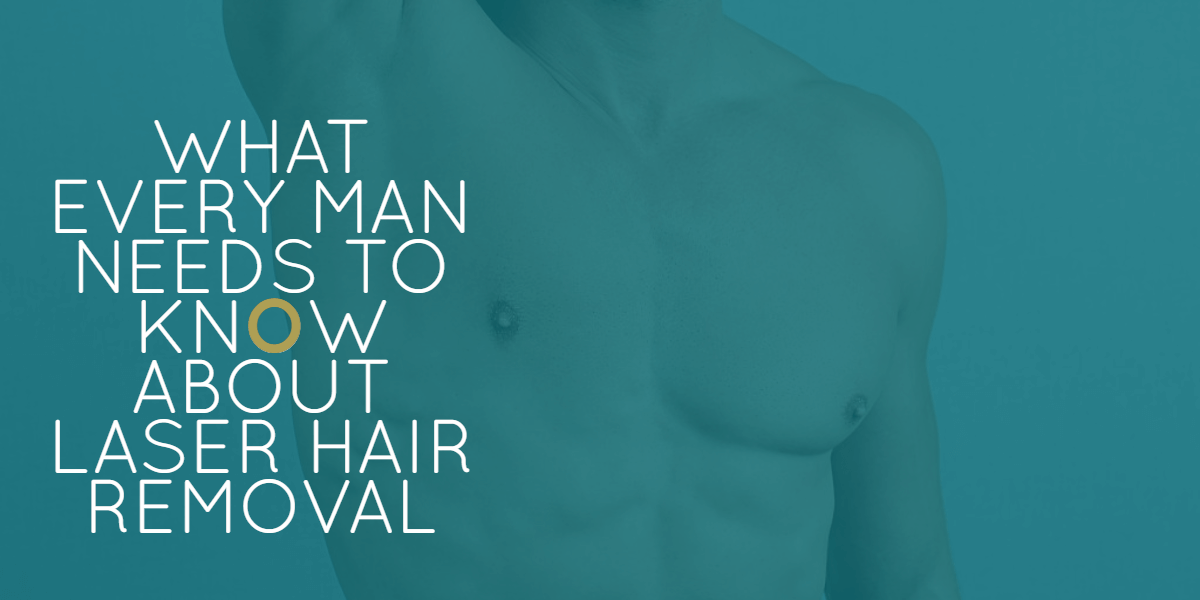Male laser hair removal guide