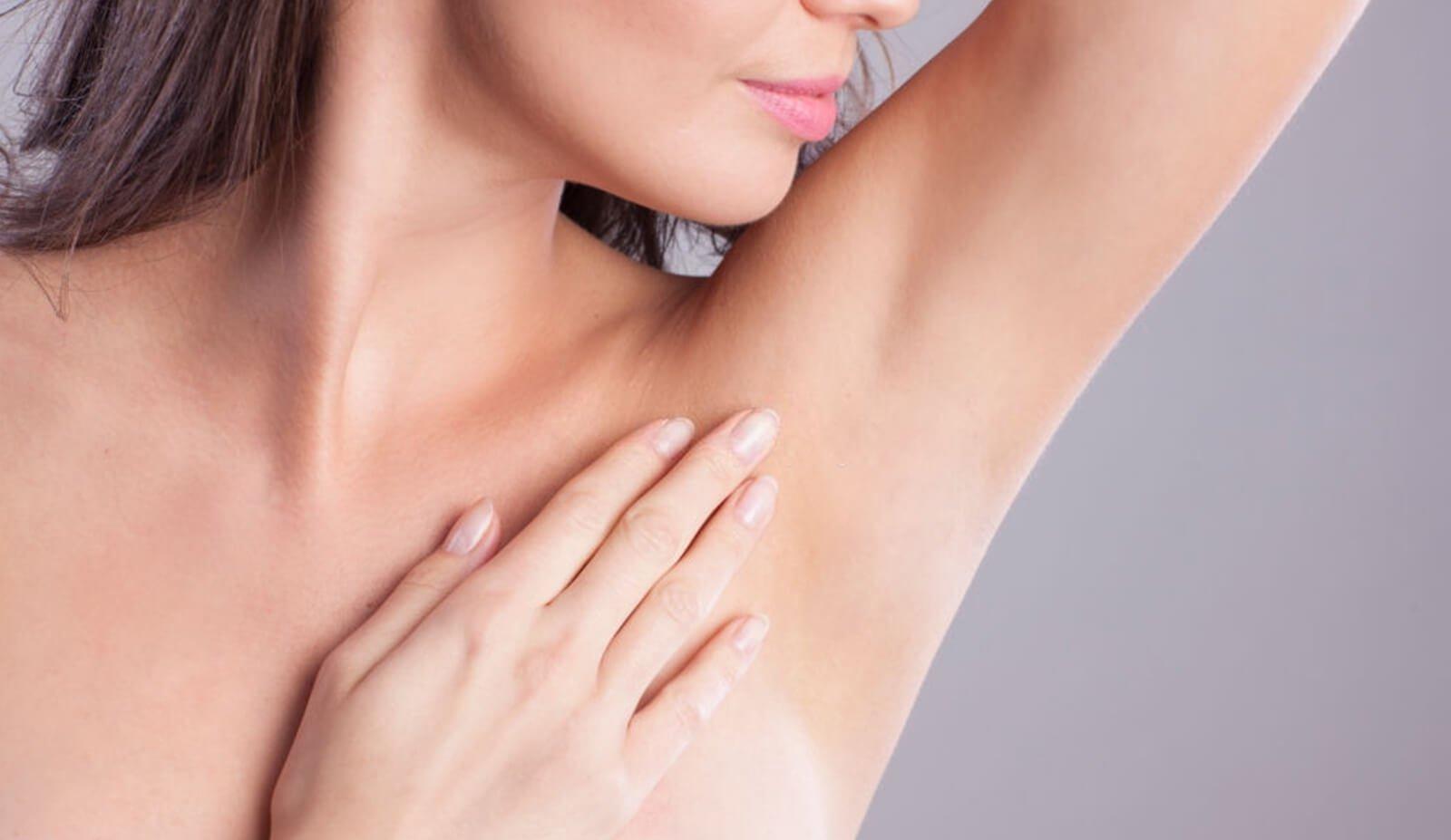 Underarm hair removal