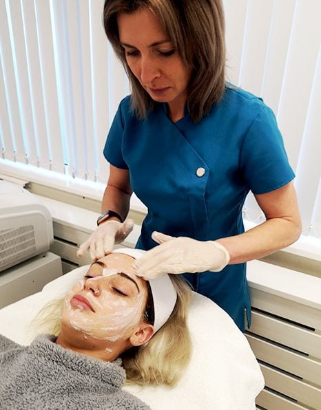 Dermaplaning treatment at CALEVO near Oakham in Rutland